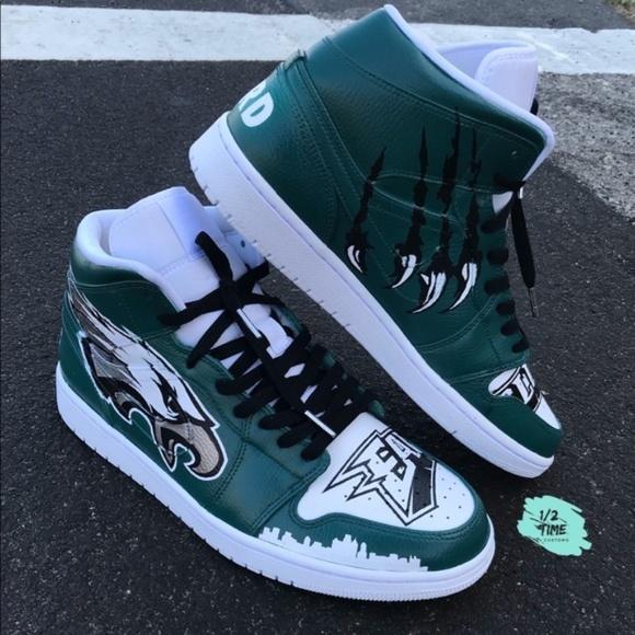 pod Shoes   Jordan Philadelphia Eagles